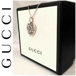 BRAND NEW authentic Gucci sterling silver pendant